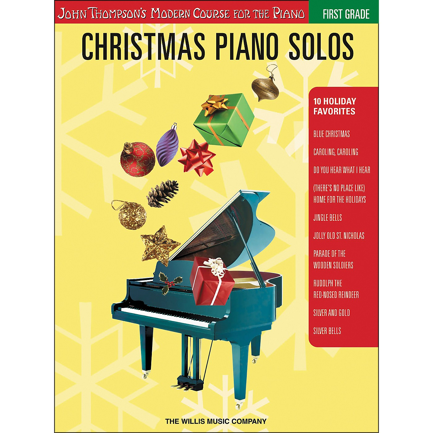 Willis Music John Thompson's Modern Course for the Piano - Christmas Piano Solos First Grade thumbnail