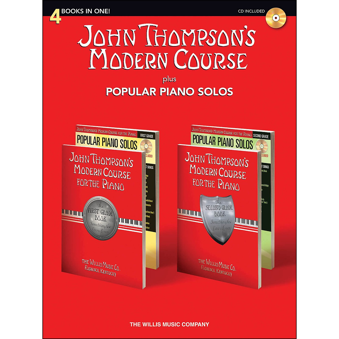 Hal Leonard John Thompson's Modern Course plus Popular Piano Solos Book/CD thumbnail