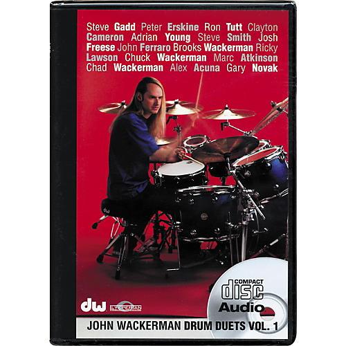 The Drum Channel John Wackerman: Drum Duets Vol 1(Audio CD) thumbnail