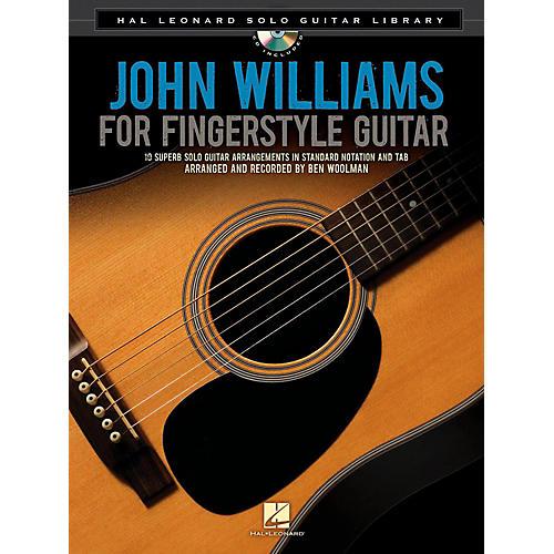 Hal Leonard John Williams For Solo Fingerstyle Guitar - Hal Leonard Solo Guitar Library Book/CD thumbnail