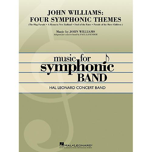 Hal Leonard John Williams: Four Symphonic Themes Concert Band Level 4-5 Arranged by Paul Lavender thumbnail