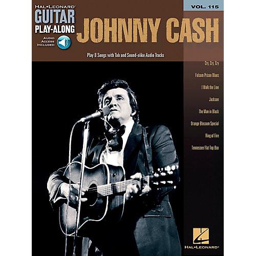 Hal Leonard Johnny Cash - Guitar Play-Along Volume 115 (Book/CD) thumbnail