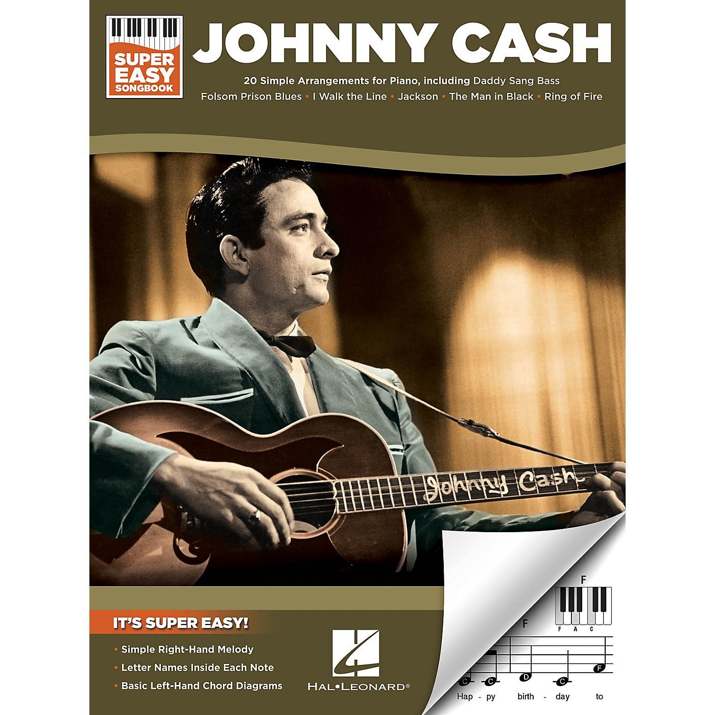Hal Leonard Johnny Cash - Super Easy Songbook thumbnail