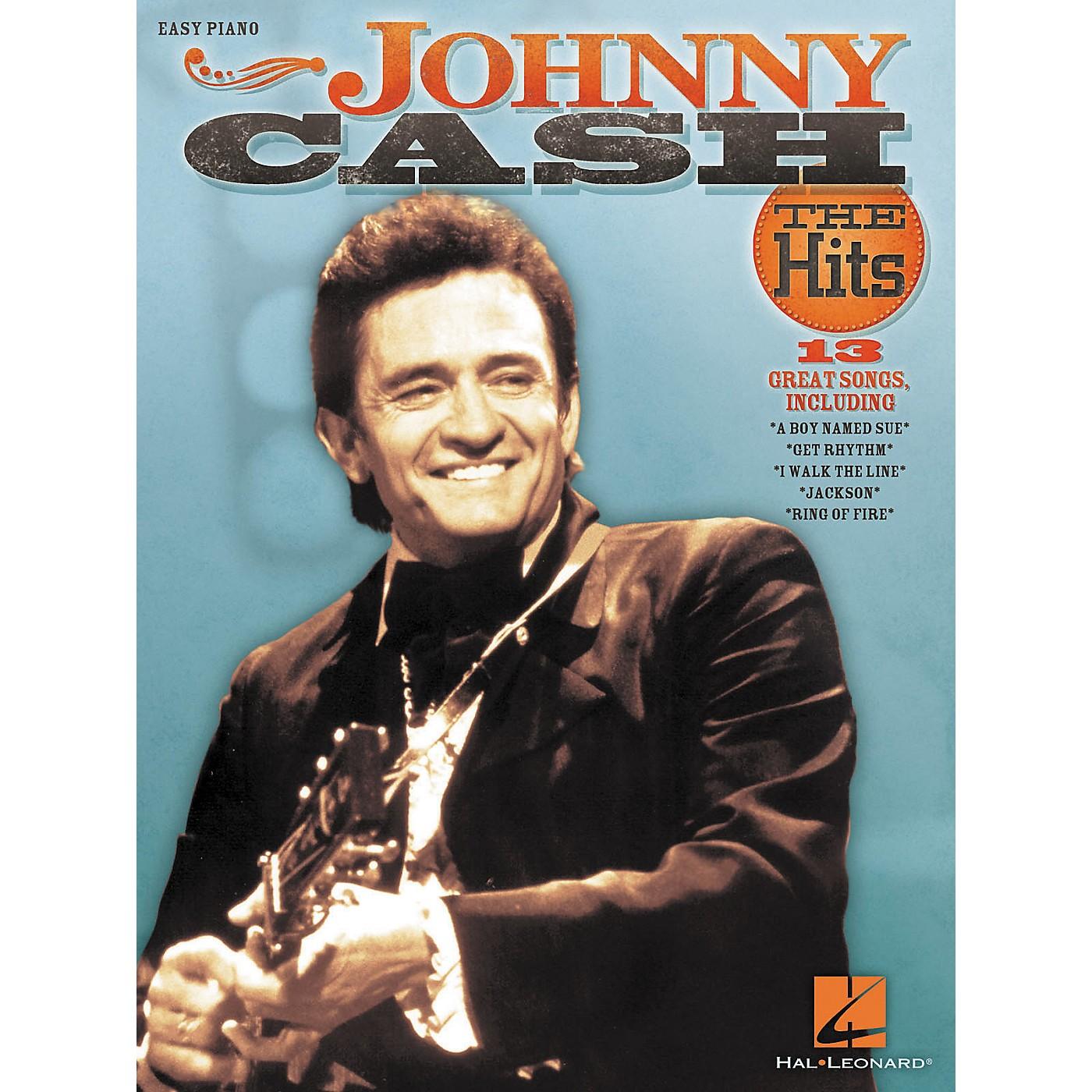 Hal Leonard Johnny Cash - The Hits For Easy Piano thumbnail