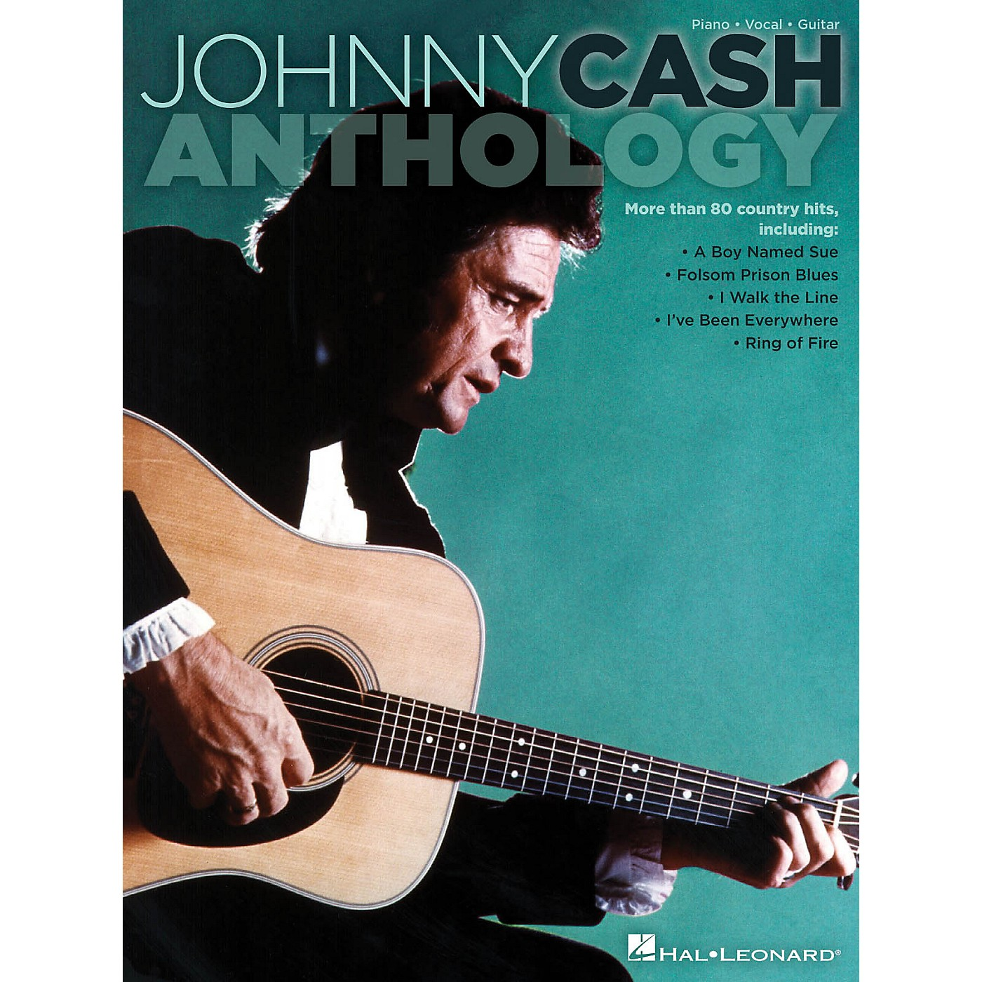 Hal Leonard Johnny Cash Anthology PVG Songbook thumbnail
