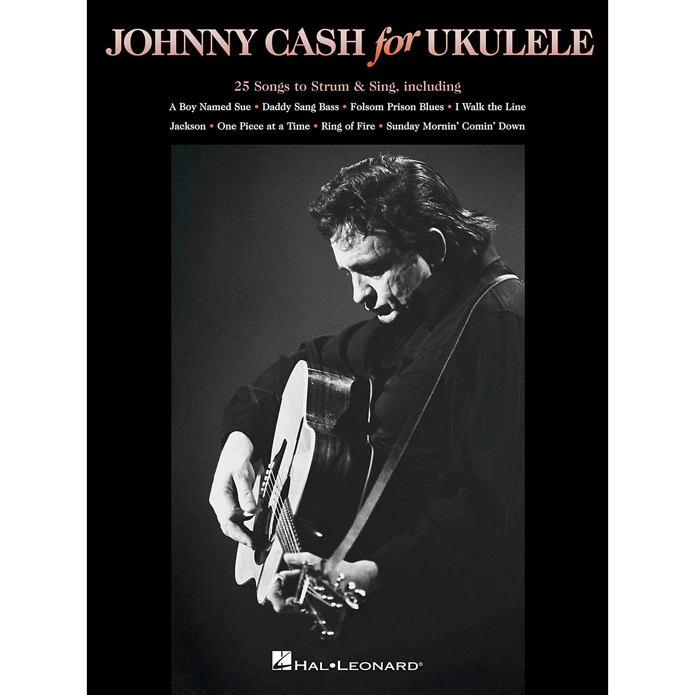 Hal Leonard Johnny Cash For Ukulele thumbnail