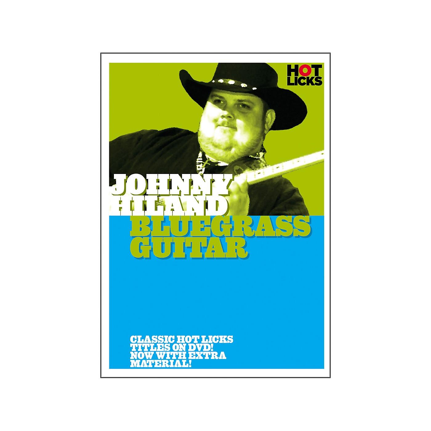 Hot Licks Johnny Hiland: Bluegrass Guitar DVD thumbnail