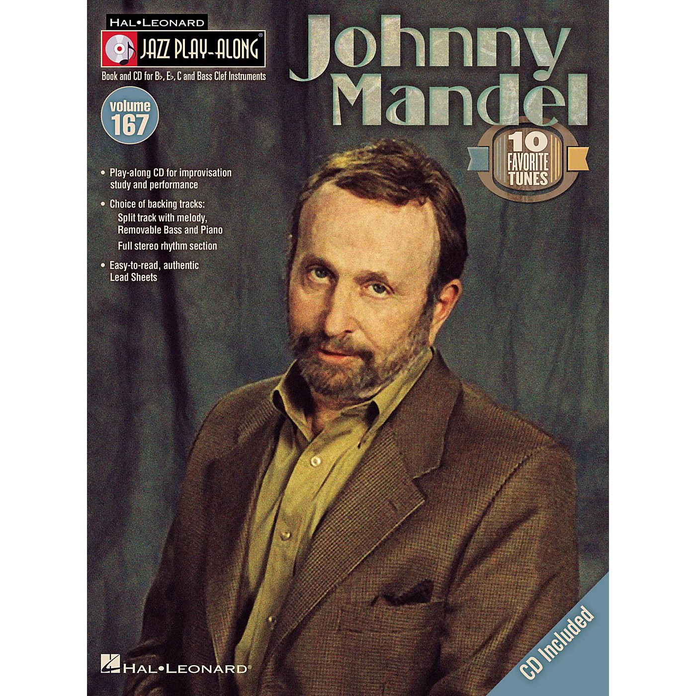 Hal Leonard Johnny Mandel - Jazz Play-Along Volume 167 Book/CD thumbnail