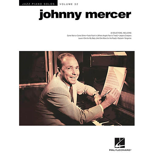 Hal Leonard Johnny Mercer - Jazz Piano Solos Series Vol. 32 thumbnail