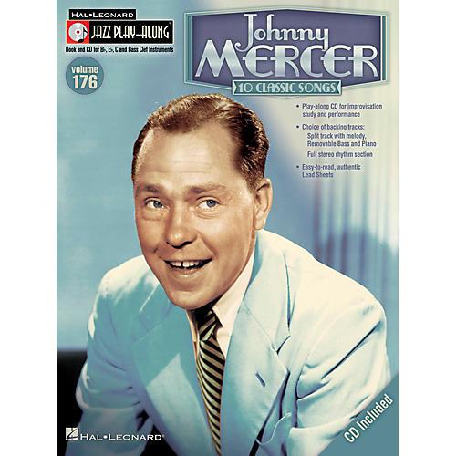 Hal Leonard Johnny Mercer - Jazz Play-Along Volume 176 Book/CD thumbnail