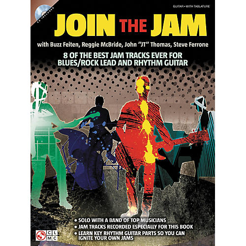 Cherry Lane Join The Jam - 8 Of The Best Backing Tracks Ever For Blues And Rock Guitar (Book/CD) thumbnail