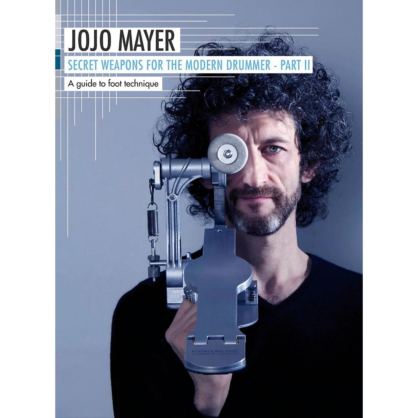 Hudson Music Jojo Mayer Secret Weapons for The Modern Drummer Pt. 2: A Guide to Foot Technique (3-DVD) thumbnail
