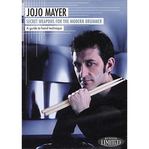 Hudson Music Jojo Mayer Secret Weapons for the Modern Drummer 2-DVD Set-thumbnail