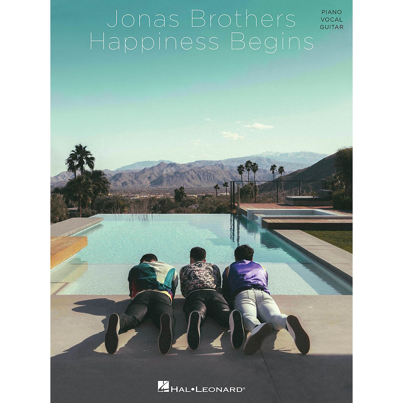 Hal Leonard Jonas Brothers - Happiness Begins Piano/Vocal/Guitar Songbook thumbnail