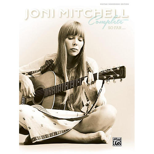 Alfred Joni Mitchell - Complete So Far Guitar Songbook Hardcover Edition thumbnail