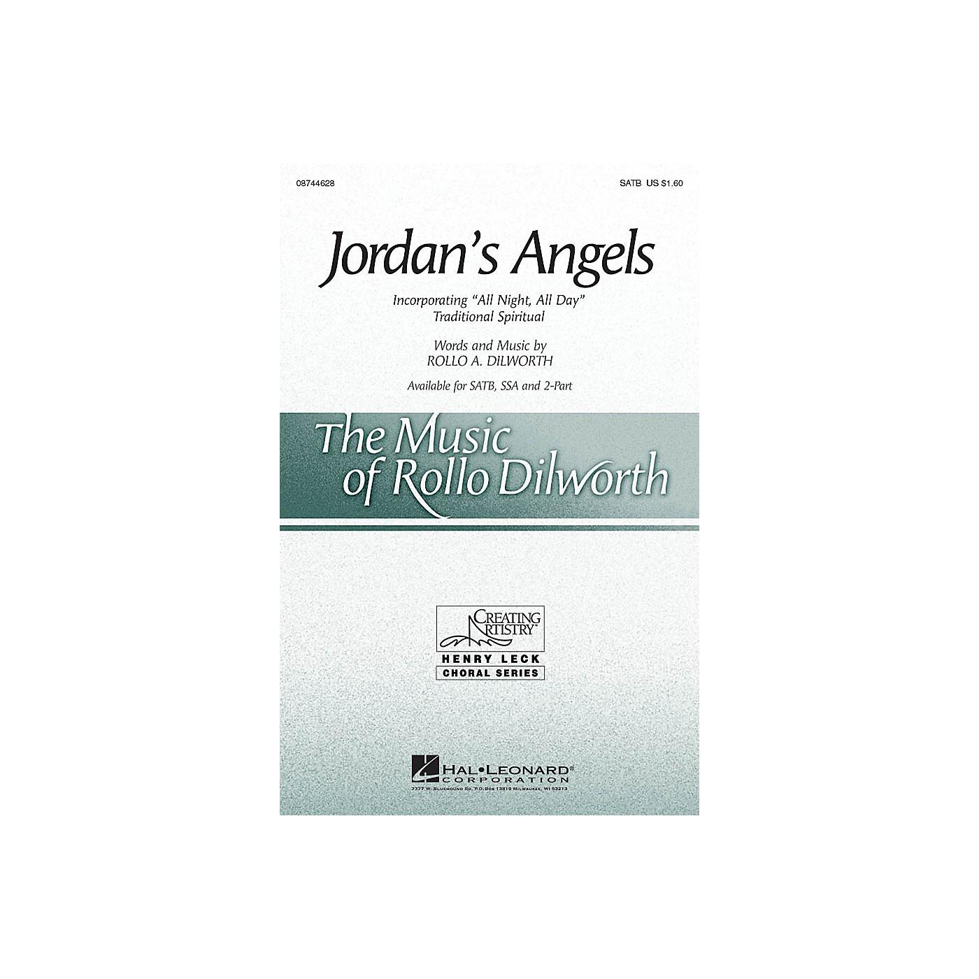 Hal Leonard Jordan's Angels SATB composed by Rollo Dilworth thumbnail