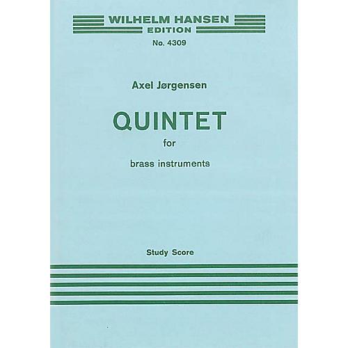 Music Sales Jorgensen Quintet For Brass 2 Tpts/Hn/Tbn/Tba M/S Music Sales America Series by Axel Jørgensen thumbnail