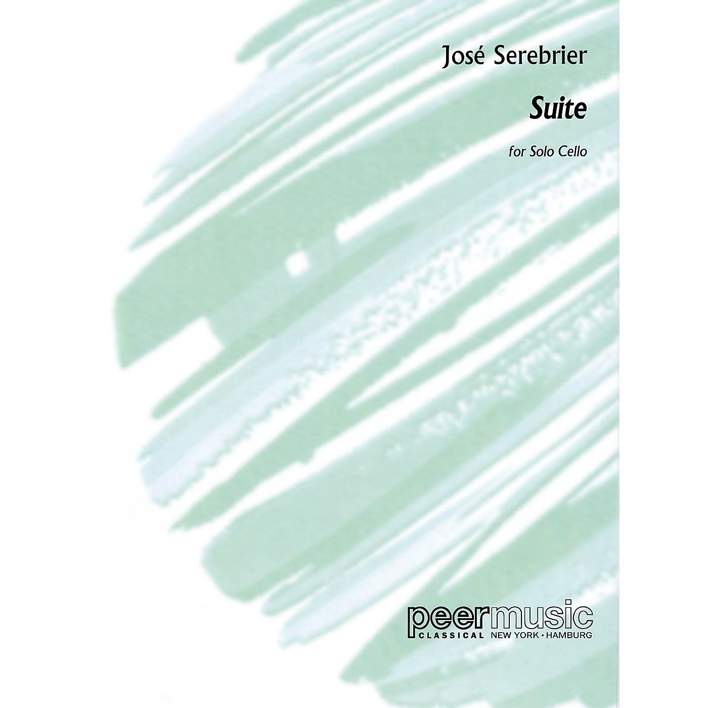 Peer Music José Serebrier - Suite (Solo Cello) Peermusic Classical Series Composed by José Serebrier thumbnail