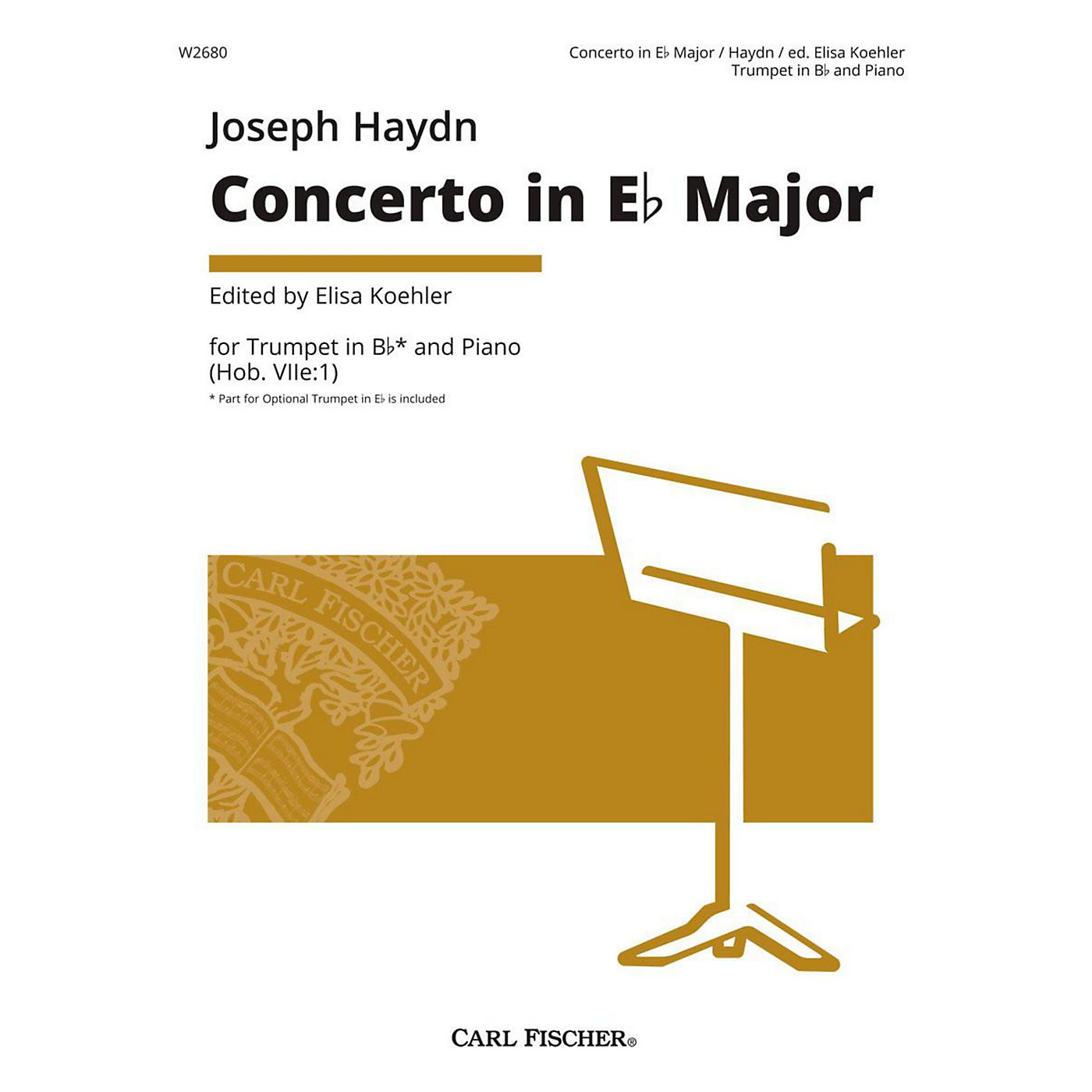 Carl Fischer Joseph Haydn - Concerto in Eb Major - Trumpet thumbnail