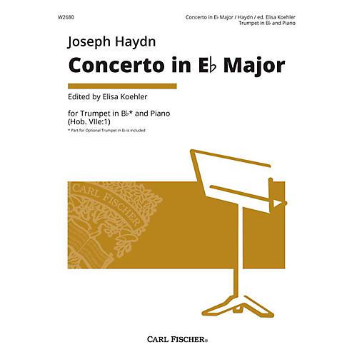 Carl Fischer Joseph Haydn - Concerto in Eb Major - Trumpet thumbnail