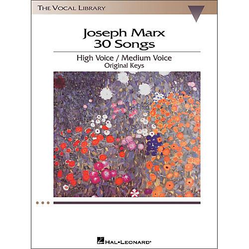 Hal Leonard Joseph Marx - 30 Songs for High / Medium Voice in Original Keys thumbnail