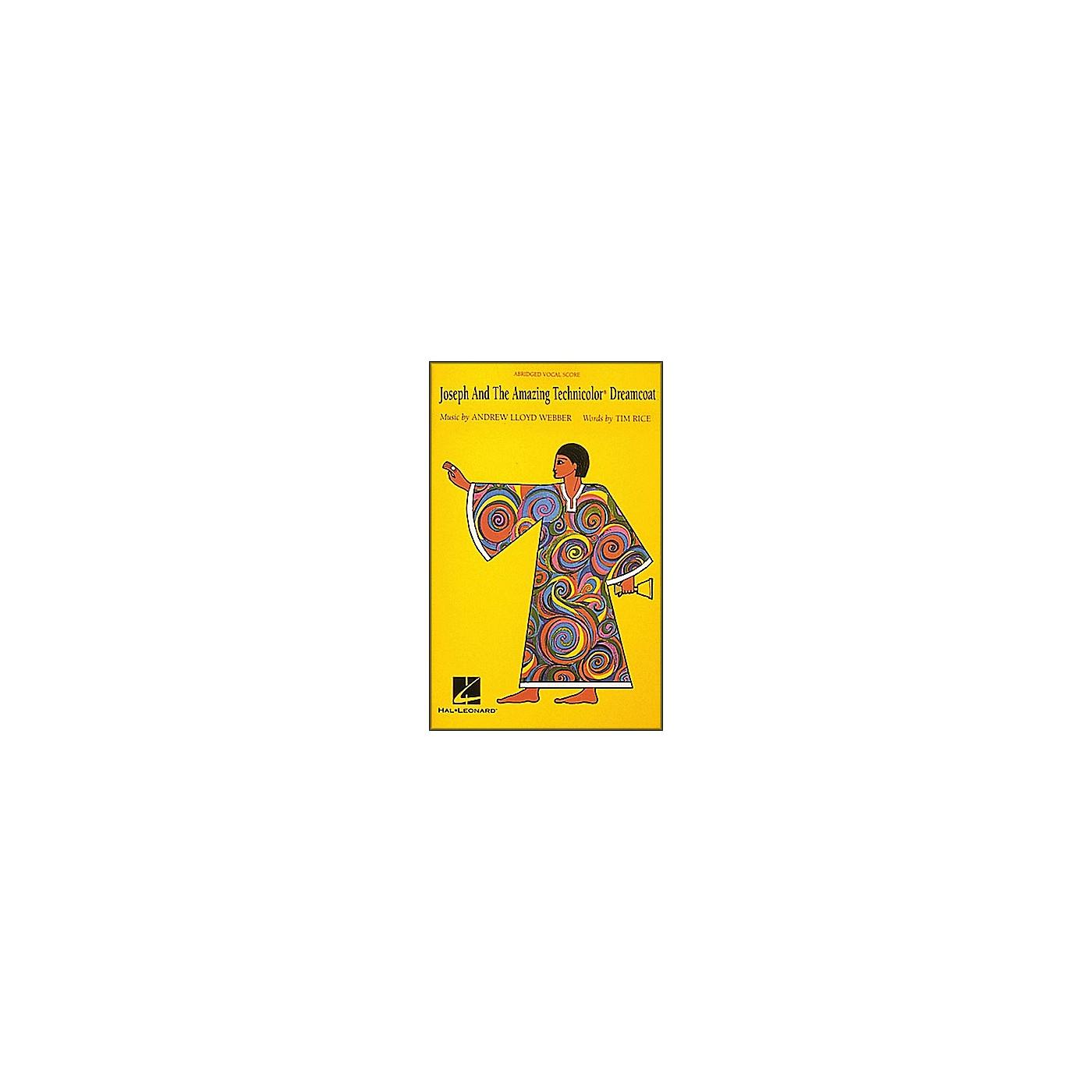 Hal Leonard Joseph and the Amazing Technicolor Dreamcoat: Abridged thumbnail