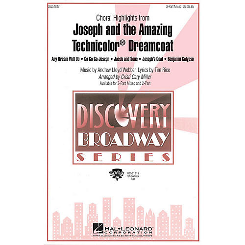 Hal Leonard Joseph and the Amazing Technicolor Dreamcoat (Choral Highlights) 3-Part by Cristi Cary Miller thumbnail