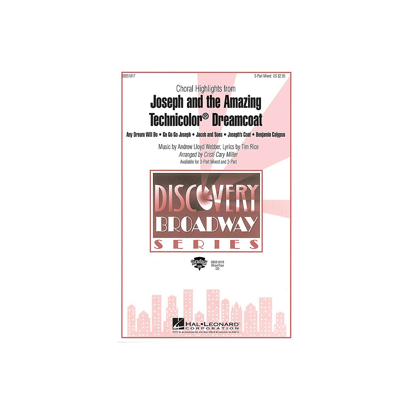Hal Leonard Joseph and the Amazing Technicolor Dreamcoat (Choral Highlights) ShowTrax CD by Cristi Cary Miller thumbnail