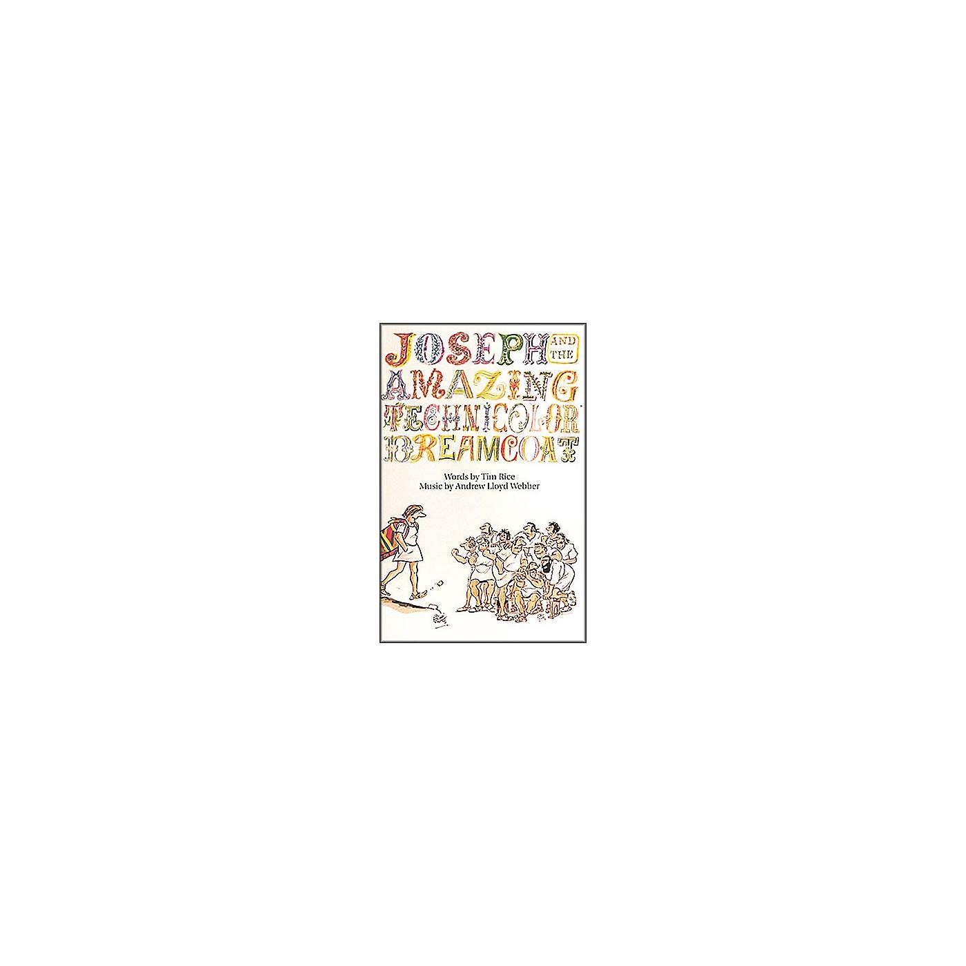 Hal Leonard Joseph and the Amazing Technicolor Dreamcoat Vocal Score Songbook thumbnail