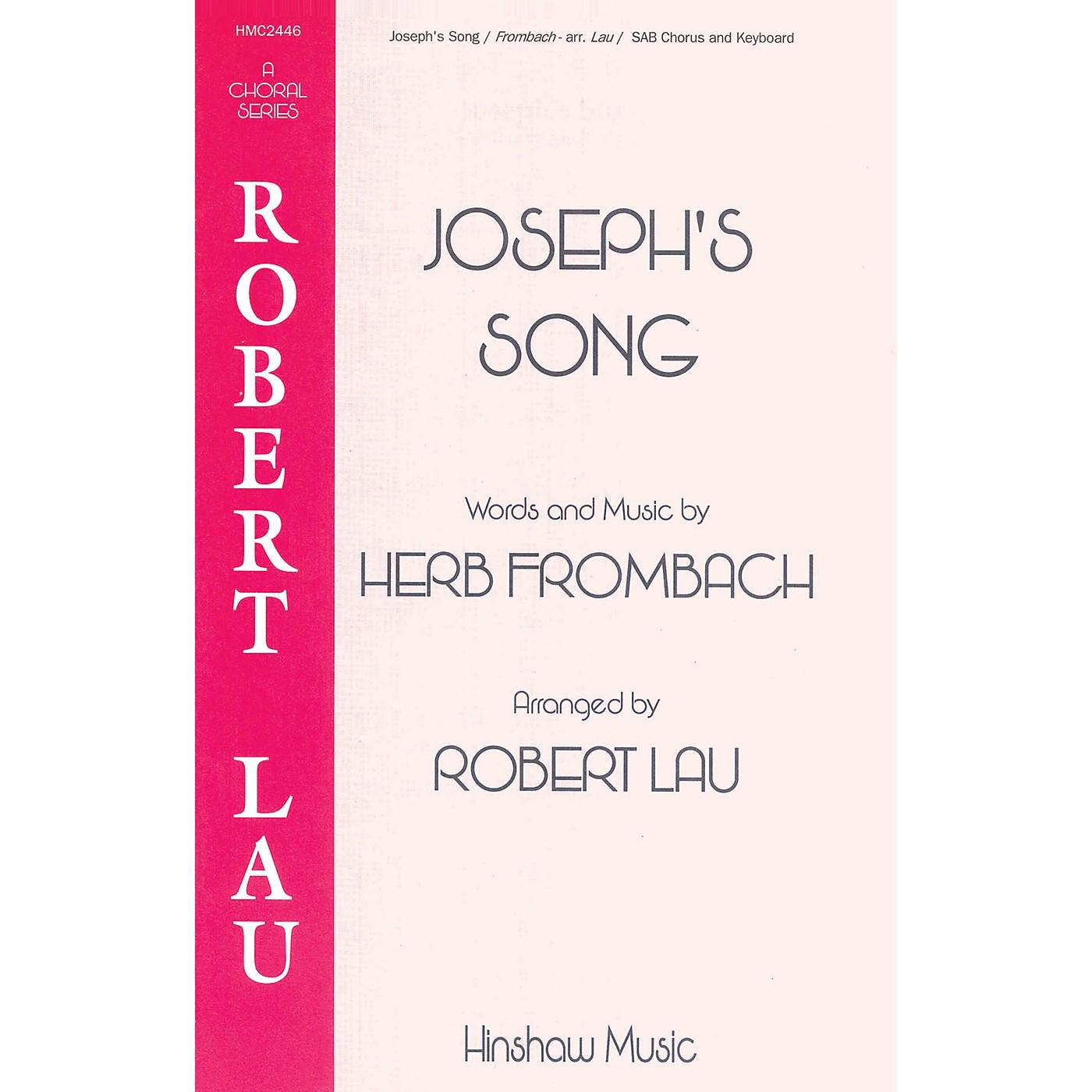 Hinshaw Music Joseph's Song SAB arranged by Robert Lau thumbnail