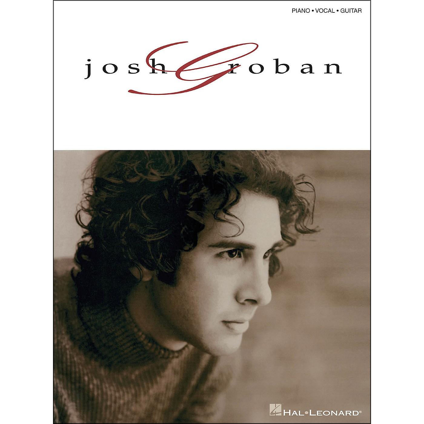 Hal Leonard Josh Groban arranged for piano, vocal, and guitar (P/V/G) thumbnail