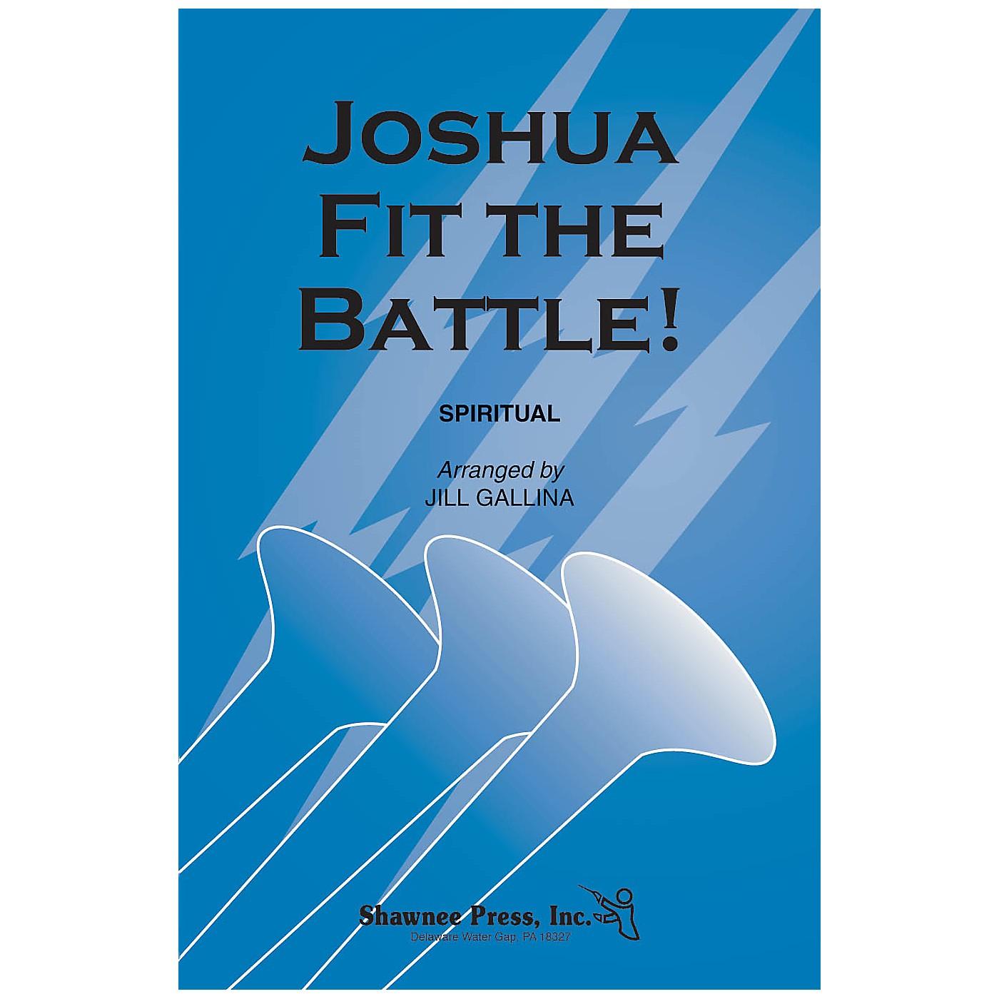 Shawnee Press Joshua Fit the Battle! 2 Part Mixed arranged by Jill Gallina thumbnail