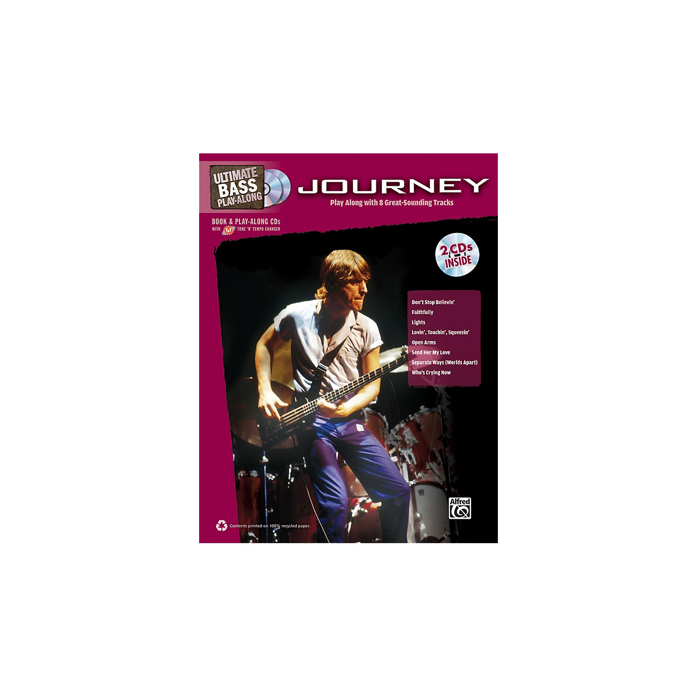 Alfred Journey - Ultimate Bass Play-Along Book & 2 CDs thumbnail