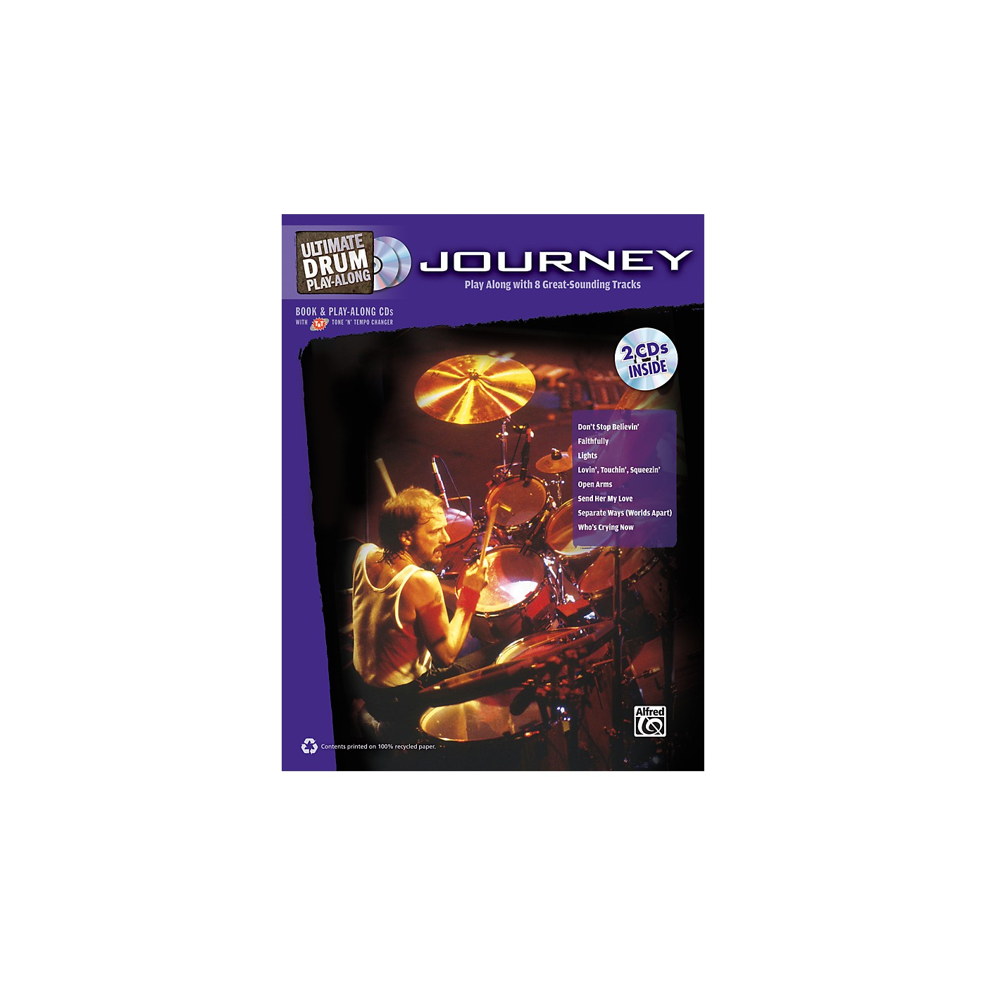 Alfred Journey - Ultimate Drum Play-Along Book & 2 CDs thumbnail