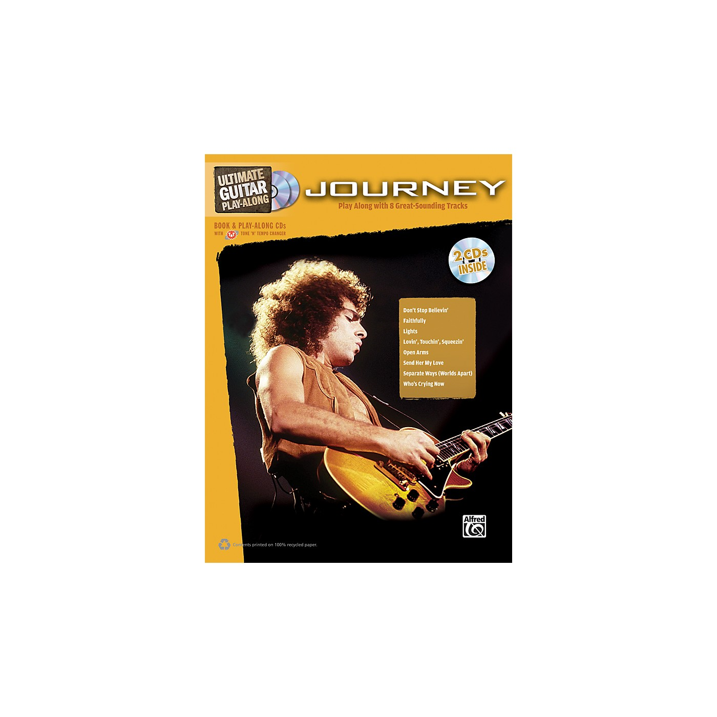 Alfred Journey - Ultimate Guitar Play-Along Book & 2 CDs thumbnail