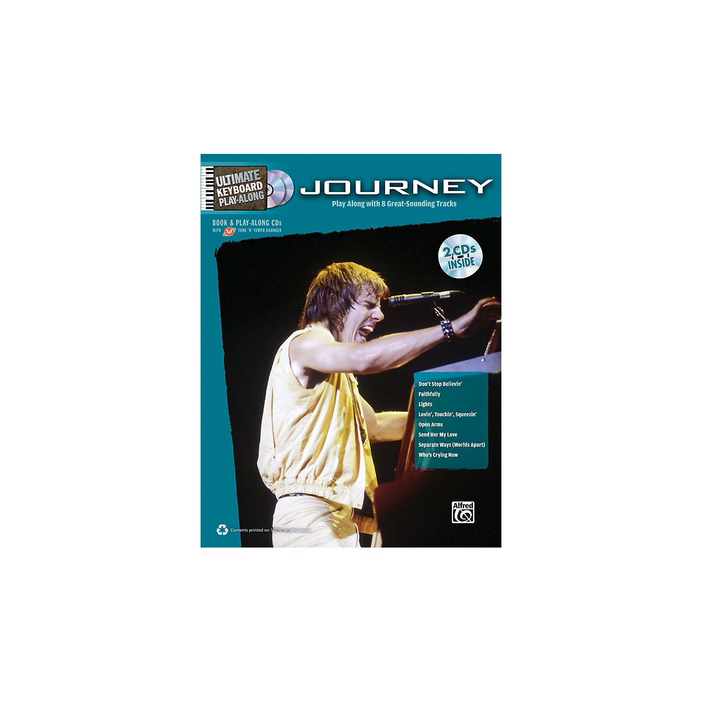 Alfred Journey - Ultimate Keyboard Play-Along Book & 2 CDs thumbnail