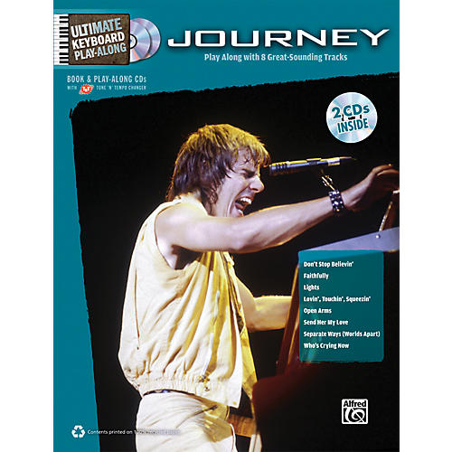 Alfred Journey - Ultimate Keyboard Play-Along Book & 2 CDs-thumbnail