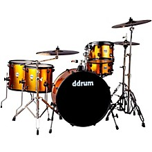 Ddrum Journeyman2 Series Rambler 5-piece Drum Kit with 24 in. Bass Drum