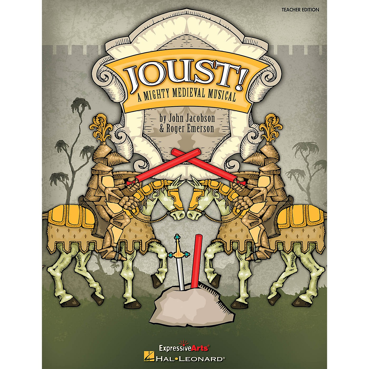 Hal Leonard Joust! (A Mighty Medieval Musical) Preview Pak Composed by Roger Emerson thumbnail