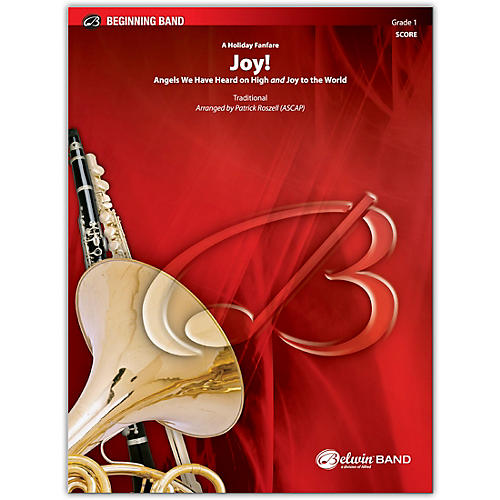 BELWIN Joy! A Holiday Fanfare Conductor Score 1 (Very Easy) thumbnail