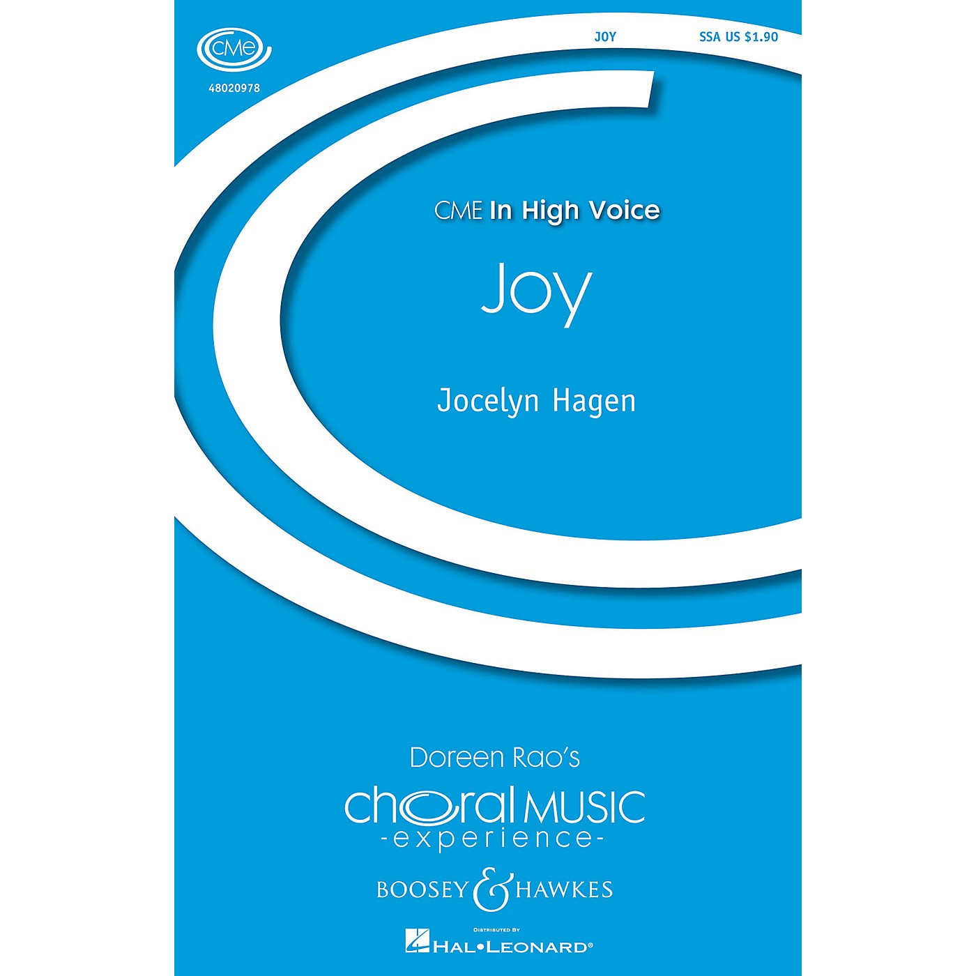 Boosey and Hawkes Joy (CME In High Voice) SSA composed by Jocelyn Hagen thumbnail