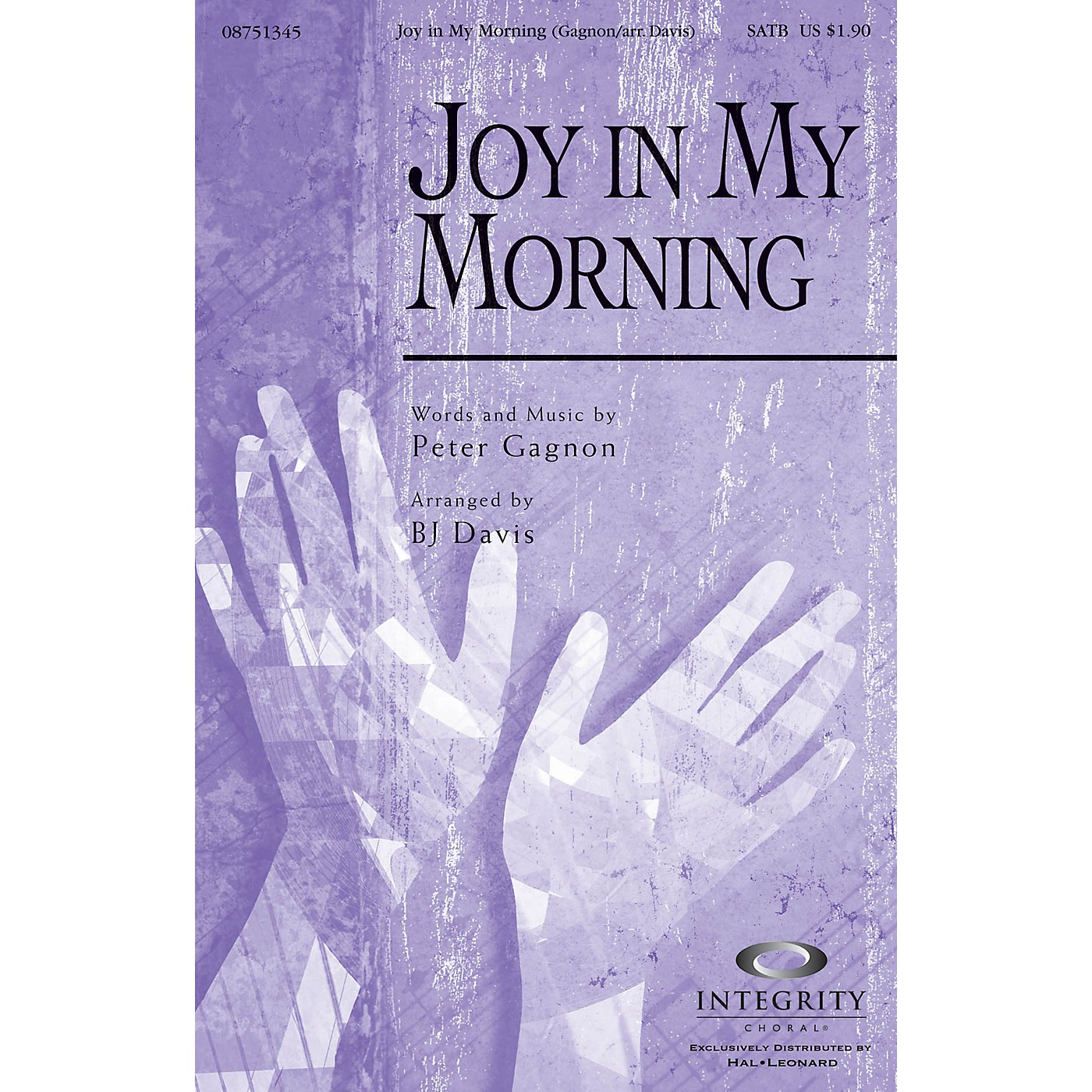 Integrity Choral Joy in My Morning ORCHESTRA ACCOMPANIMENT Arranged by BJ Davis thumbnail