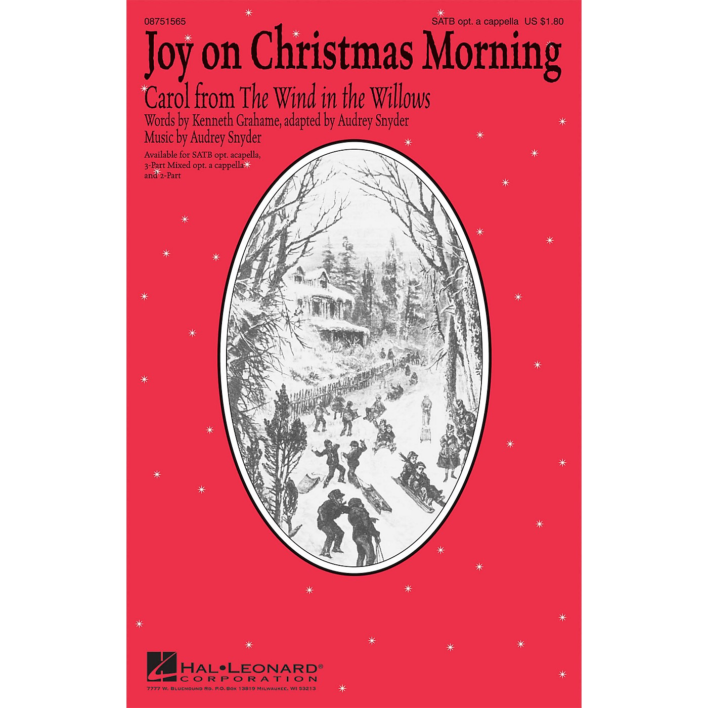 Hal Leonard Joy on Christmas Morning (Carol from The Wind in the Willows) 2-Part Composed by Audrey Snyder thumbnail