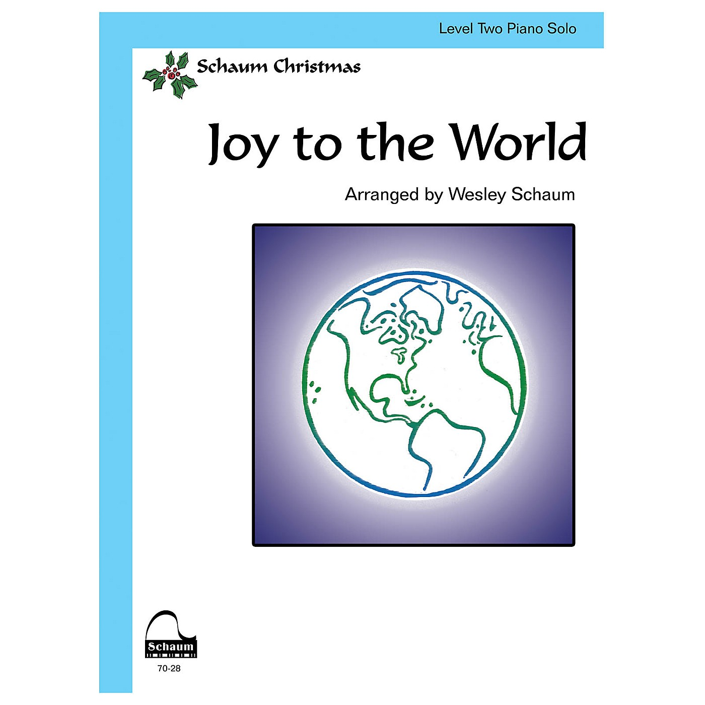 SCHAUM Joy to the World Educational Piano Book by George Fredrick Handel (Level Late Elem) thumbnail