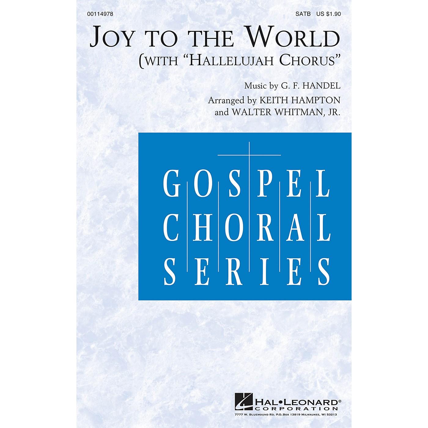 Hal Leonard Joy to the World (with Hallelujah Chorus) SATB arranged by Keith Hampton thumbnail