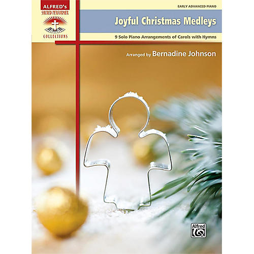 Alfred Joyful Christmas Medleys Early Advanced Piano Book thumbnail