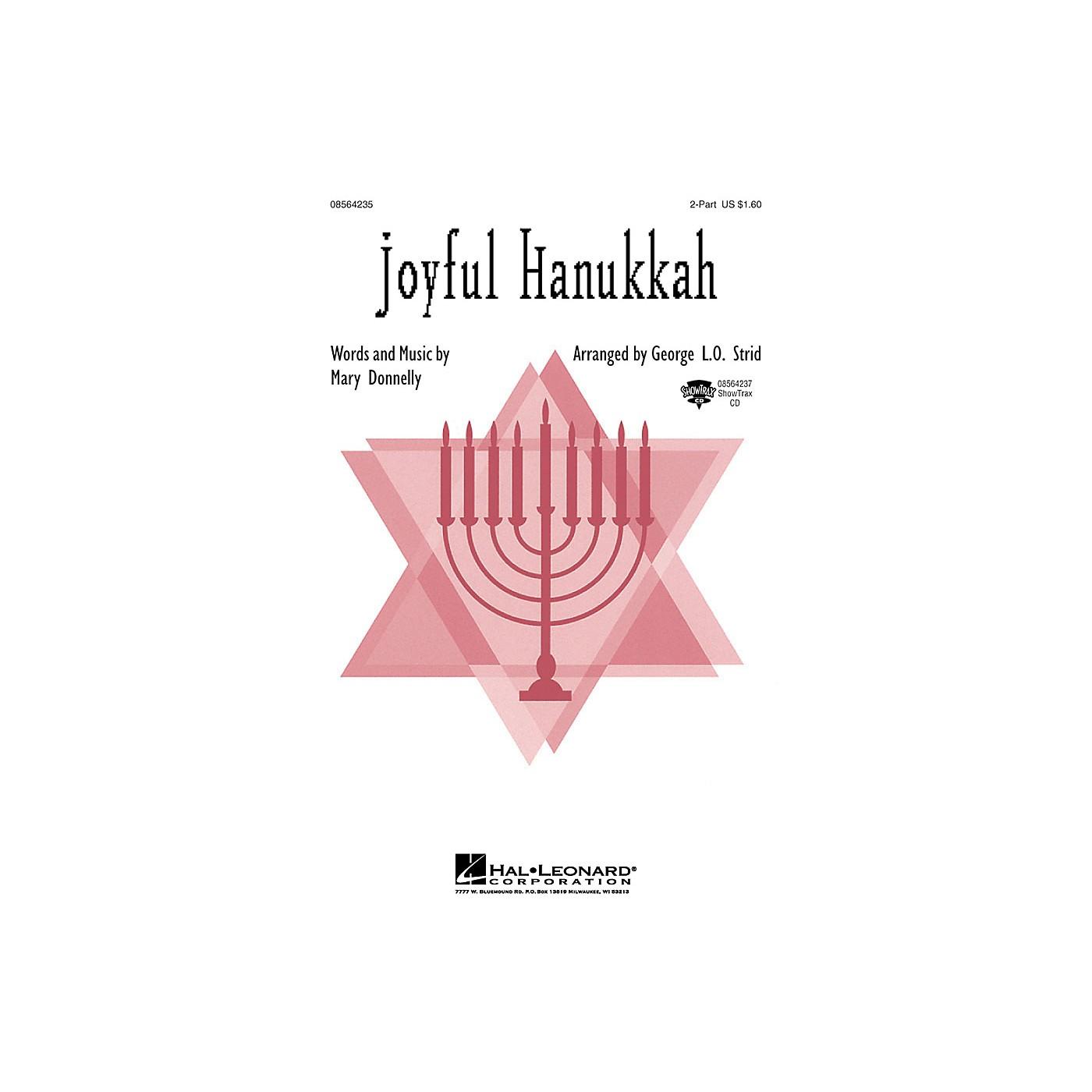 Hal Leonard Joyful Hanukkah ShowTrax CD Arranged by George L.O. Strid thumbnail
