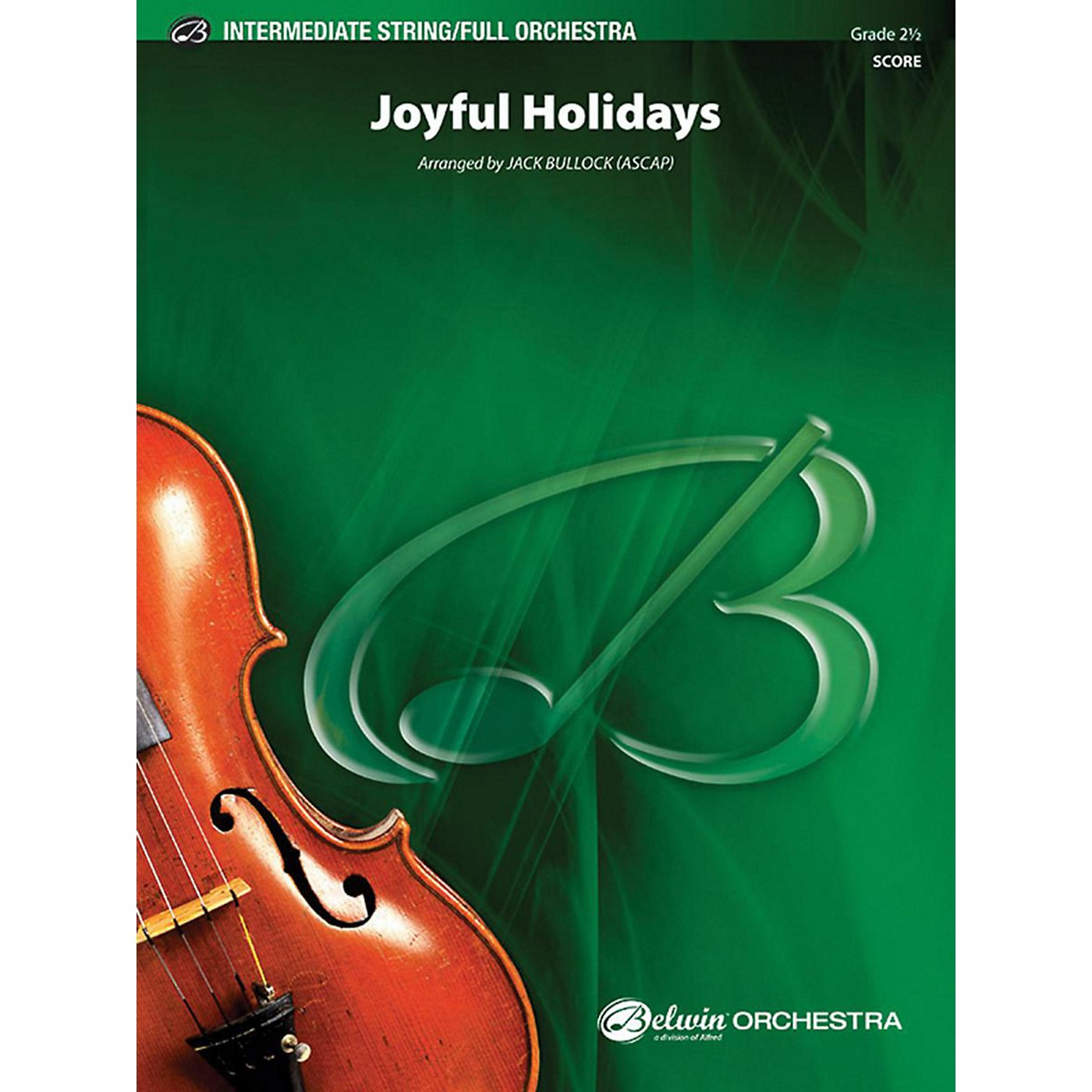 Alfred Joyful Holidays Full Orchestra Grade 2.5 thumbnail