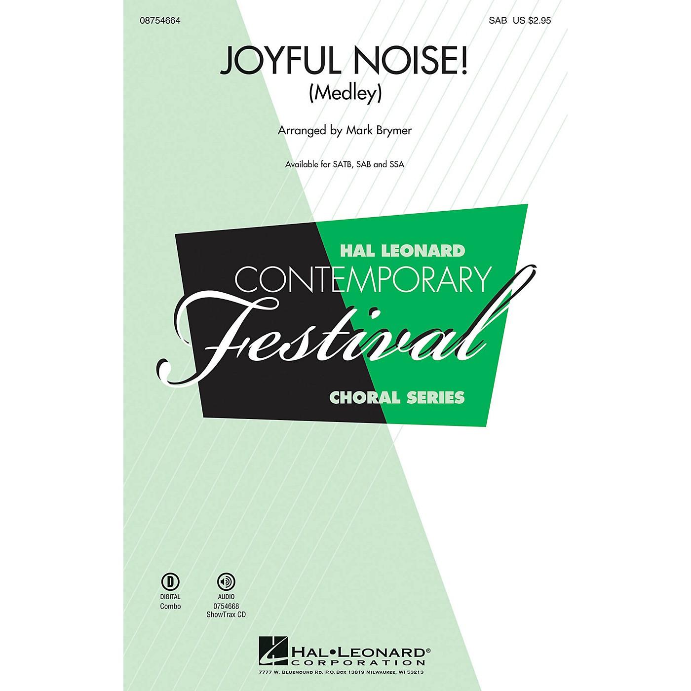 Hal Leonard Joyful Noise (Medley) SAB arranged by Mark Brymer thumbnail