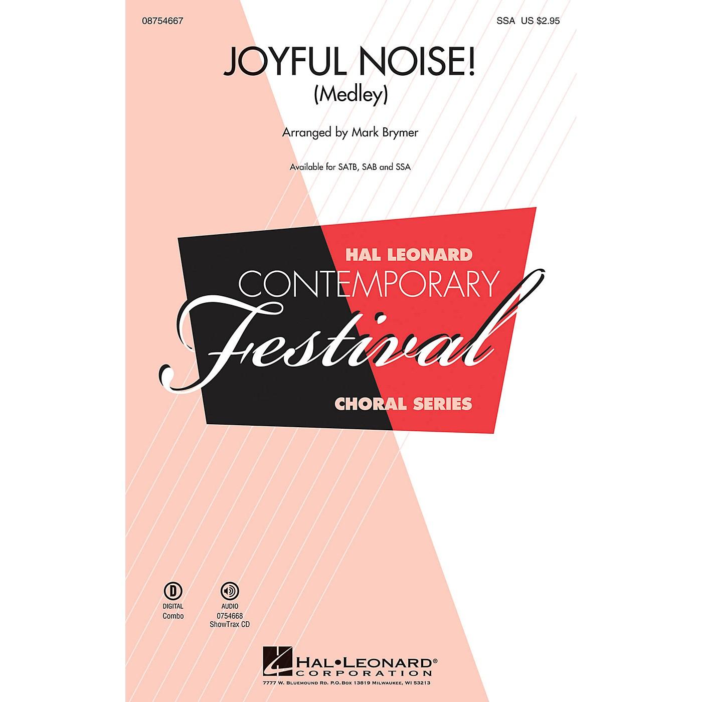 Hal Leonard Joyful Noise (Medley) SSA arranged by Mark Brymer thumbnail